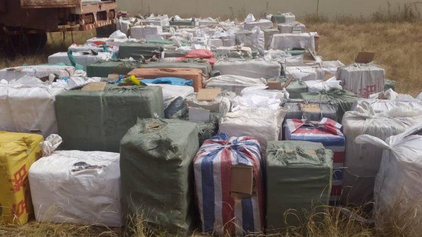 Photos reportage : saisie de faux médicaments à Touba Belel évalué à plus d'un (1) milliard de FCFA